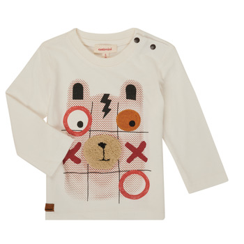 material Boy Long sleeved shirts Catimini CR10052-11 White