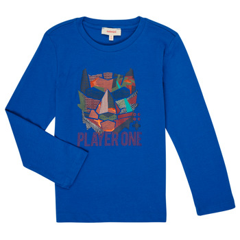 material Boy Long sleeved shirts Catimini CR10134-45-C Blue