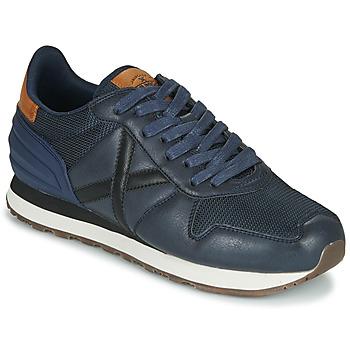 Shoes Men Low top trainers Munich MASSANA Blue