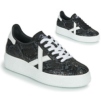 Shoes Women Low top trainers Munich BARRU SKY Black