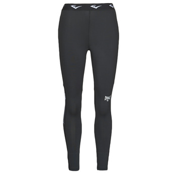material Women leggings Everlast THIGHT WOMEN LEONARD Black