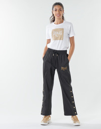 material Women Tracksuit bottoms Everlast WOVEN-PANT-LOWEL Black