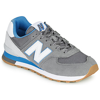 Shoes Men Low top trainers New Balance 574 Grey / Blue