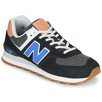 Shoes Men Low top trainers New Balance 574 Black / Blue