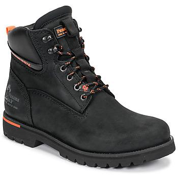 Shoes Men Mid boots Panama Jack AMUR GTX Black