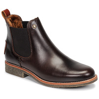 Shoes Women Mid boots Panama Jack GIORDANA Brown