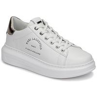 Shoes Women Low top trainers Karl Lagerfeld KAPRI Maison Karl Lace White