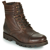 Shoes Men Mid boots Base London BRONCO Brown