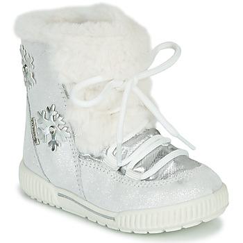 Shoes Girl Snow boots Primigi RIDE 19 GTX Silver