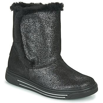 Shoes Girl Snow boots Primigi HULA Black