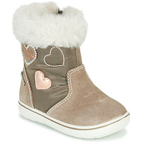 Shoes Girl Mid boots Primigi SNORKY GTX Brown