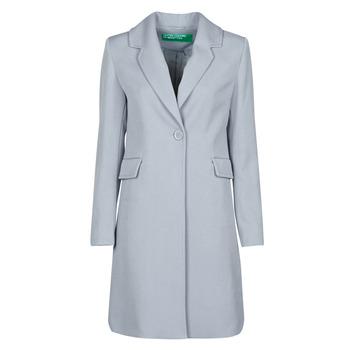 material Women coats Benetton 2AMH5K2R5 Grey