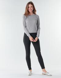 material Women Wide leg / Harem trousers Benetton 4SK755944 Black