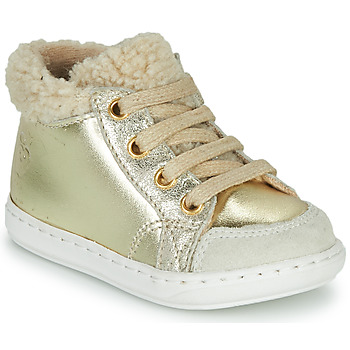 Shoes Girl Mid boots Shoo Pom BOUBA ZIP HAIR Beige