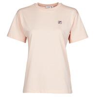 material Women short-sleeved t-shirts Fila 682319 Pink