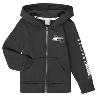 material Boy sweaters Puma ALPHA HOODED JACKET Black