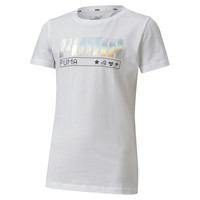 material Girl short-sleeved t-shirts Puma ALPHA TEE White