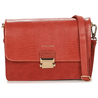 Bags Women Shoulder bags Fuchsia F9922 Orange