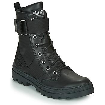Shoes Women Mid boots Palladium PALLABOSSE TACT STL Black