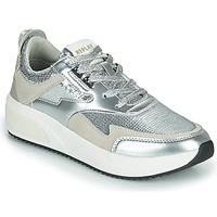 Shoes Women Low top trainers Replay FLOW CREATION Silver