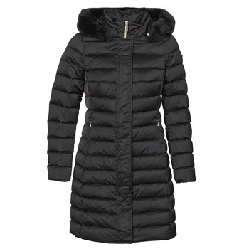 material Women Duffel coats Geox BETTANIE Black
