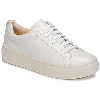 Shoes Women Low top trainers Vagabond ZOE PLATFORM White