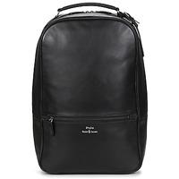 Bags Men Rucksacks Polo Ralph Lauren BACKPACK SMOOTH LEATHER Black