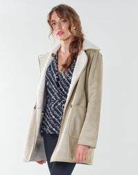 material Women coats Lauren Ralph Lauren RVRSBL FXSH-COAT Camel