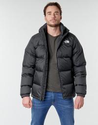 material Men Duffel coats The North Face DIABLO DOWN HOODIE Black