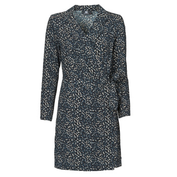 material Women Short Dresses Le Temps des Cerises LEANE Blue