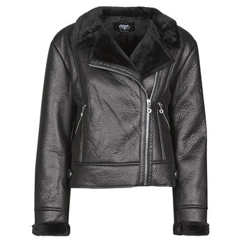 material Women Leather jackets / Imitation le Le Temps des Cerises BONY Black