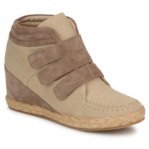 Shoes Women High top trainers No Name SPLEEN STRAPS Beige / Taupe