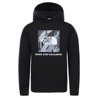 material Boy sweaters The North Face NEW BOX CREW HODDIE Black