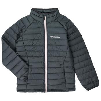 material Girl Duffel coats Columbia POWDER LITE JACKET Black