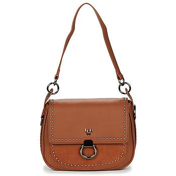 Bags Women Shoulder bags Les Petites Bombes ARMEL Cognac
