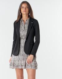 material Women Jackets / Blazers Les Petites Bombes ANNE Black