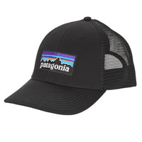 Clothes accessories Men Caps Patagonia P-6 LOGO LOPRO TRUCKER HAT Black