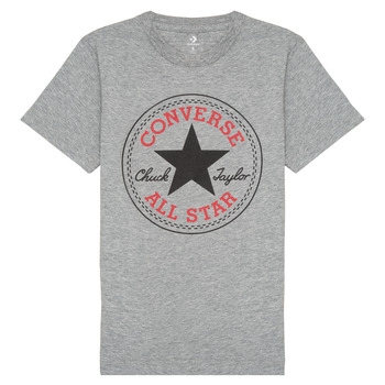 material Boy short-sleeved t-shirts Converse 966500 Grey