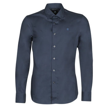 material Men long-sleeved shirts G-Star Raw DRESSED SUPER SLIM SHIRT LS Mazarine / Blue