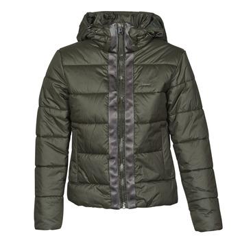 material Women Duffel coats G-Star Raw MEEFIC HDD PDD JACKET WMN Kaki