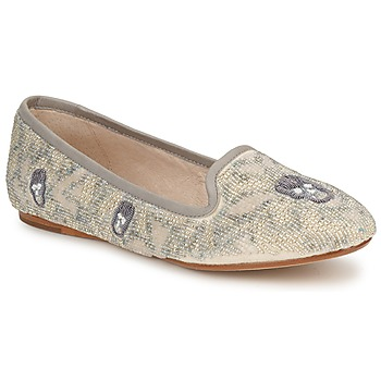 Shoes Women Loafers House of Harlow 1960 ZENITH BEIGE / Grey