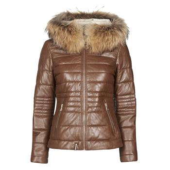 material Women Duffel coats Oakwood JELLY Cognac