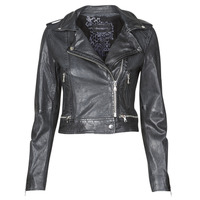 material Women Leather jackets / Imitation le Oakwood KYOTO Blue / Dark