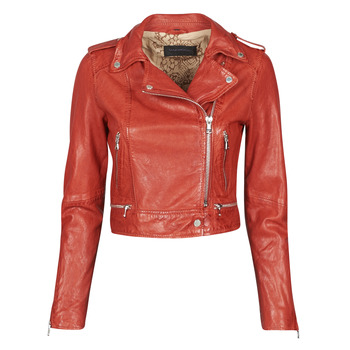 material Women Leather jackets / Imitation le Oakwood KYOTO Red