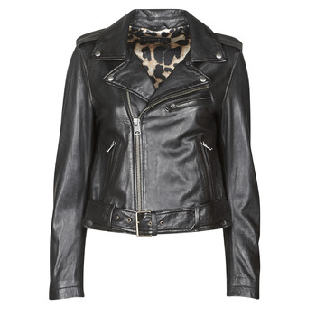 material Women Leather jackets / Imitation le Oakwood RADIO Black