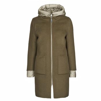 material Women coats Oakwood LILIANA BI Kaki / Beige / Taupe