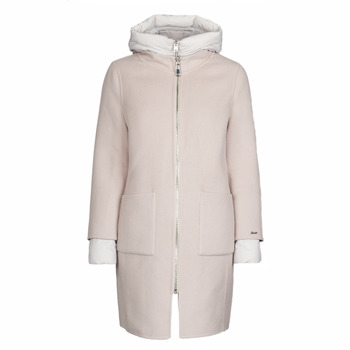 material Women coats Oakwood LILIANA BI Ivory / Grey