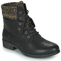 Shoes Women Mid boots Spot on F50613 Black