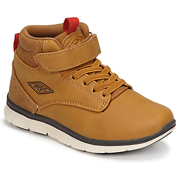 Shoes Boy High top trainers Umbro JAGGY VLC Brown
