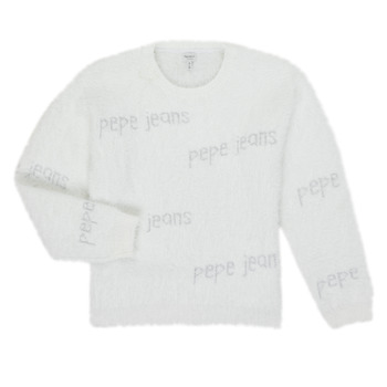 material Girl jumpers Pepe jeans AUDREY White